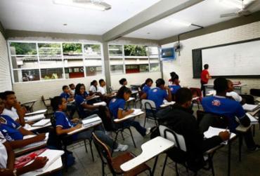 Sala de aula no sistema estadual de ensino - Foto: Margarida Neide | Ag. A TARDE