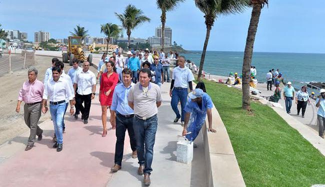 No dia 29 de janeiro serão inaugurados os trechos 1 e parte do trecho 2 - Foto: Divulgação   Prefeitura de Salvador