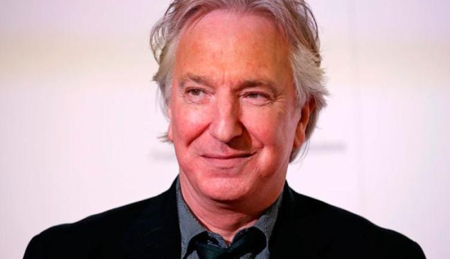 Alan ficou mais conhecido pela seu personagem na saga Harry Potter, Professor Snape - Foto: Reutres