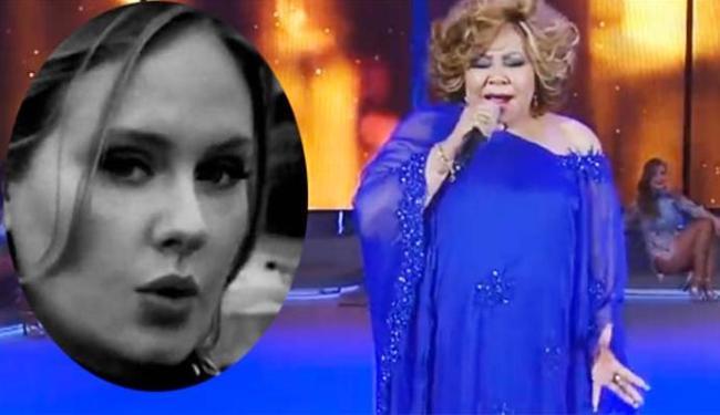 Cantora virou meme na internet com participação no Faustão - Foto: Reprodução | Twitter