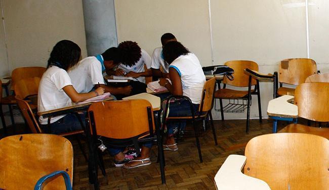 As inscrições, que vão até 27 de janeiro, podem ser realizadas em qualquer escola da rede - Foto: Margarida Neide | Ag. A TARDE | 03/09/2009