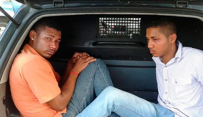 Dupla foi detida nas proximidades do quartel de Amaralina - Foto: Divulgação   PM