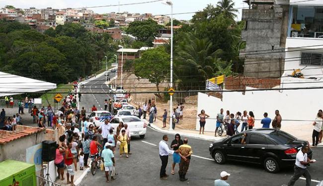 Via liga Cajazeiras 10 a Cajazeiras 5 - Foto: Joá Souza | Ag. A TARDE