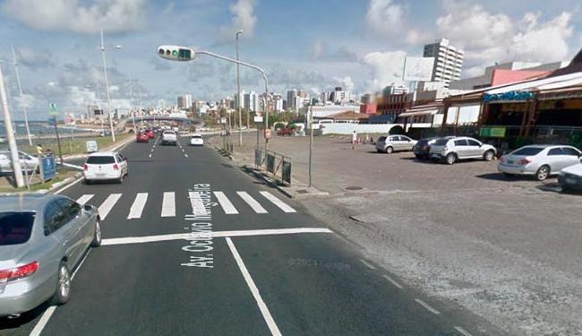 Tentativa de assalto ocorreu na avenida Otávio Mangabeira - Foto: Reprodução | Google Street View