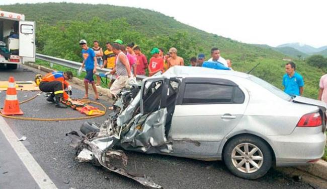 Uma das vítimas morreu a caminho do hospital - Foto: Reprodução | Blog do Anderson
