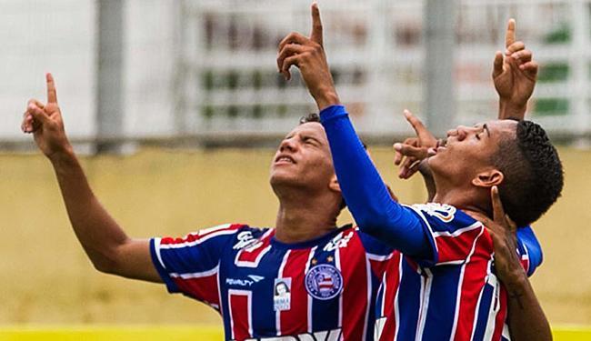 Meninos do Bahia buscam vingar derrota tricolor na Copinha de 2011 - Foto: Fábio Moraes l Futura Press l Estadão Conteúdo