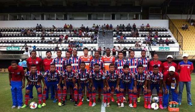 Tricolor está na competição com a equipe Sub-17 - Foto: Divulgação   EC Bahia