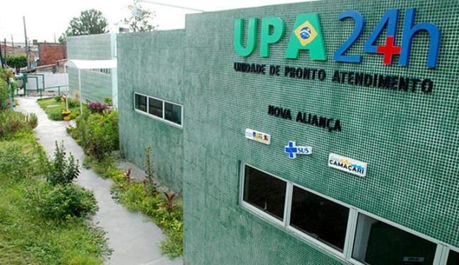 Duas Unidades de Pronto Atendimento (UPA) foram atacadas por um grupo de cinco pessoas - Foto: Agnaldo Silva | Divulgação