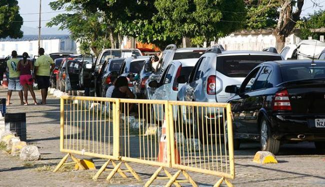A espera para embarque de veículos é de 2h30 e para pedestres, 1h30 - Foto: Fernando Amorim| AG. A TARDE