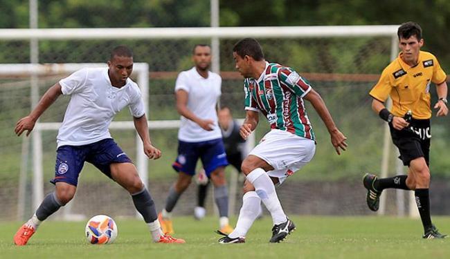 Time jogou com uniforme alusivo aos 85 anos - Foto: Felipe Oliveira l EC Bahia