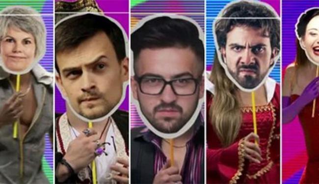 Na chamada, algumas pessoas apareciam com máscaras cobrindo o rosto - Foto: Reprodução   TV Globo