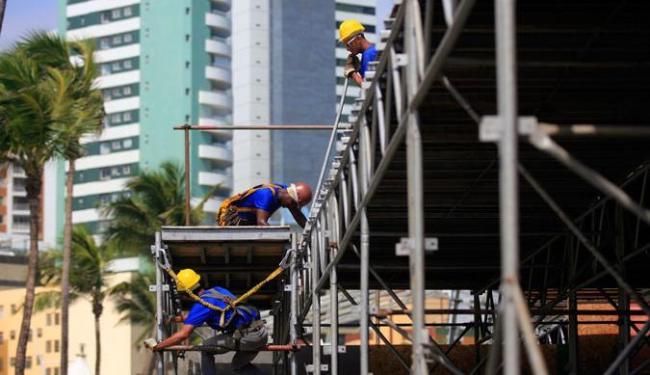 Até o momento foram inspecionados 12 camarotes nos circuitos do Carnaval de Salvador - Foto: Raul Spinassé   Ag. A TARDE