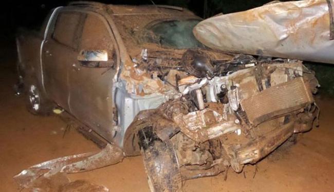 No primeiro acidente, vítima estava com o marido quando se envolveu em acidente - Foto: Ivan Gehlen l Blog Braga