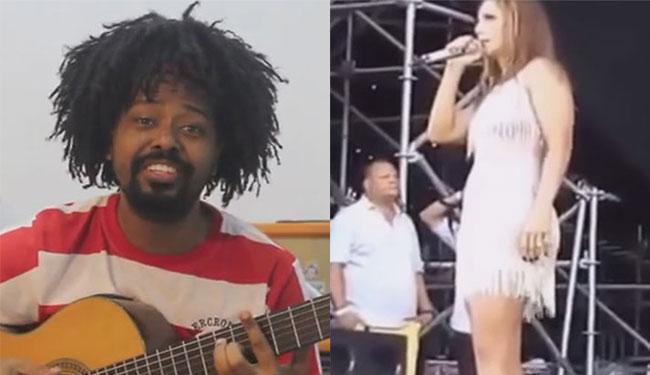 Ivete parou 2 vezes o show Guarajuba ao ver o marido conversar com outra no camarote, no dia 1º - Foto: Reprodução