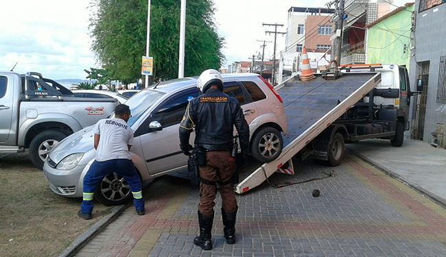 Além das remoções, 25 motoristas foram notificados - Foto: Divulgação | Transalvador