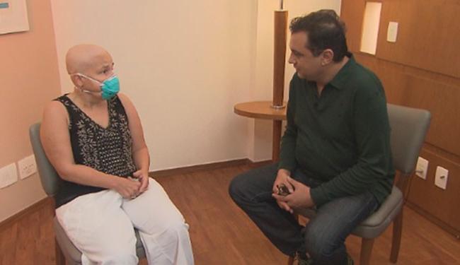 A atriz falou sobre o processo da cirurgia em gravação do programa
