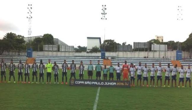 Em um campo pesado os meninos do sub-17 se superaram e estão na próxima fase da Copinha - Foto: Divulgação | E.C. Bahia