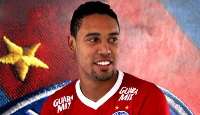 Edigar Junio tem 25 anos e chega para brigar por posição no setor ofensivo - Foto: Divulgação | E.C. Bahia