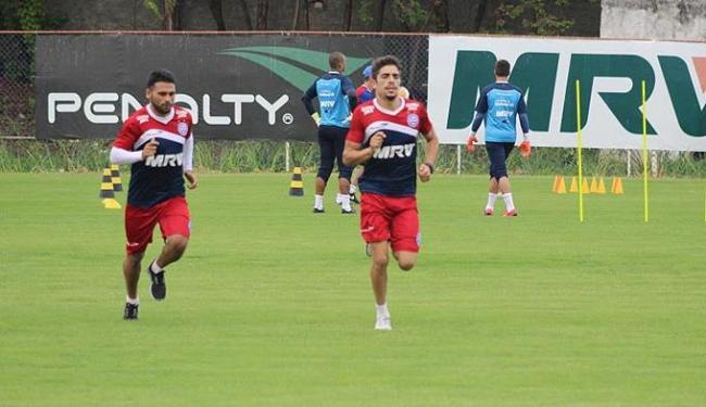 Maxi e Luisinho correm em volta do campo - Foto: Divulgação | E.C. Bahia