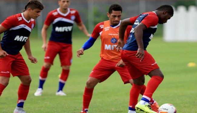 Elenco tricolor treinou em dois turnos nesta sexta-feira, 8 - Foto: Felipe Oliveira   E.C. Bahia   Divulgação