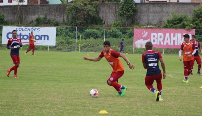O técnico já começa a dar os primeiros indícios da formação da equipe que deve estrear no Baianão - Foto: Divulgação | E.C. Bahia
