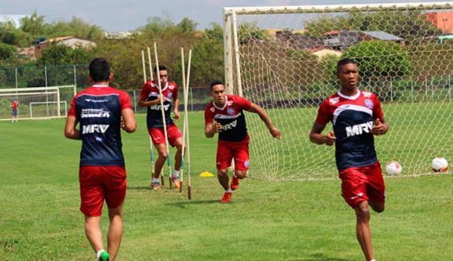 Time treinou no campo do Fazendão - Foto: Divulgação | E.C. Bahia