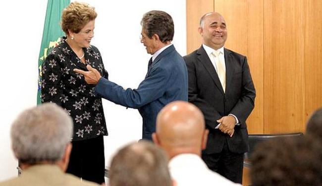 O presidente do Vitória, Raimundo Viana, participou da solenidade que marcou a oficialização - Foto: Divulgação | EC Vitória