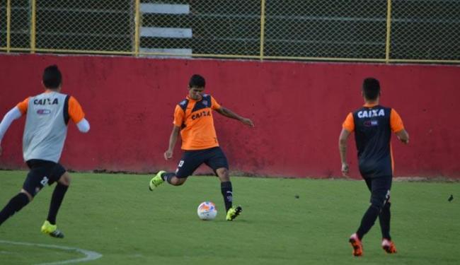 Atividade no Barradão contou com a presença dos novos contratados - Foto: Divulgação | EC Vitória