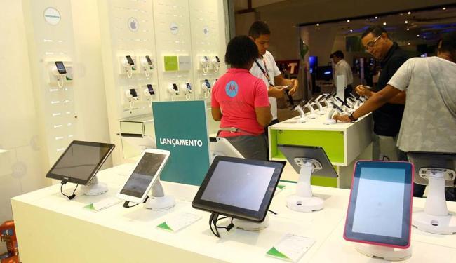 Fim da isenção para eletrônicos aumentará a tributação e o preço dos produtos deve subir - Foto: Margarida Neide   Ag. A TARDE