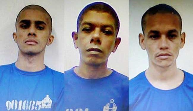 Uiliam Guimarães, Arismar de Souza e Rodrigo Santos - Foto: Divulgação | Polícia
