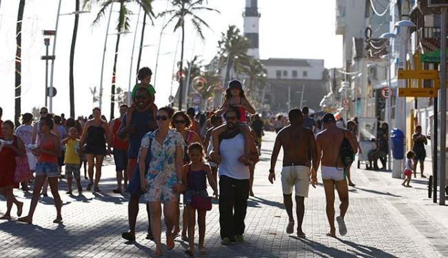 Eventos vão acontecer por toda a orla da Barra até Ondina - Foto: Fernando Vivas   Ag. A TARDE