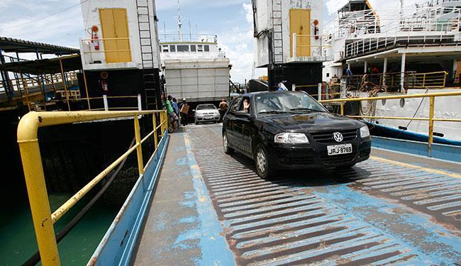 Não há filas para pedestre nem veículos nos dois terminais do FerryBoat - Foto: Lunaé Parracho | Ag. A TARDE