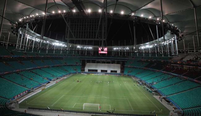 Fonte Nova será palco da partida que abre a temporada tricolor - Foto: Lúcio Távora   Ag. A TARDE