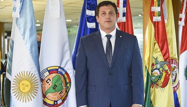 Ele era candidato único à sucessão do também paraguaio Juan Angelo Napout, que foi detido em 2015 - Foto: Divulgação