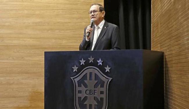 A gafe não foi a única cometida por Nunes em uma declaração - Foto: Rafael Ribeiro | CBF