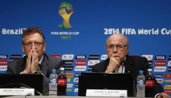 Valcke comandou a organização da Copa do Mundo no Brasil em 2014 - Foto: Pilar Olivares | Agência Reuters