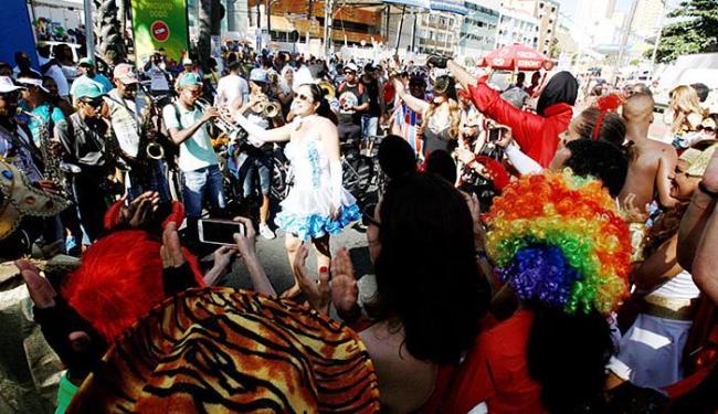 A bandinha animou o Circuito Orlando Tapajós neste sábado - Foto: Luciano da Matta l Ag. A TARDE.