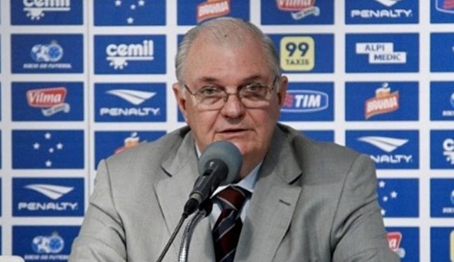 Gilvan de Pinho Tavares, presidente da Primeira Liga e do Cruzeiro - Foto: Washington Alves l Light Press l Cruzeiro