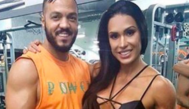 Briga aconteceu durante exercício do casal na academia - Foto: Reprodução   Instagram
