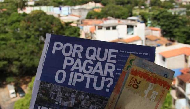 Aumento do IPTU será de 10,1% - Foto: Joa Souza   Ag. A TARDE