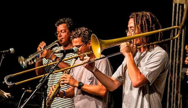 Banda base do Jam no MAM, que estará lançando o DVD neste sábado - Foto: Ligia Rizério | Ag. A TARDE
