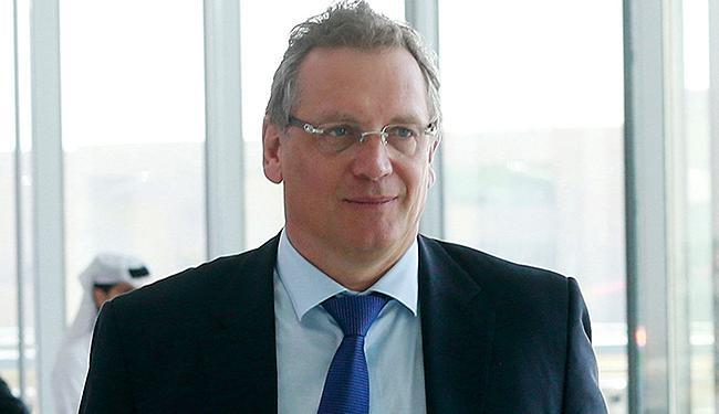 Jérôme Valcke é ex-secretário-geral da entidade máxima do futebol mundial - Foto: Mohammed Dabbous l Reuters