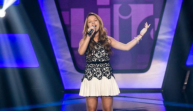 Além de Chiquititas, Júlia, 13 anos, também já atuou em novelas da Rede Globo - Foto: Reprodução   TV Globo