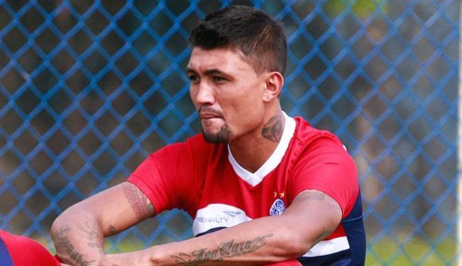 Se a renovação der certo, atacante será o principal nome do Bahia para a temporada 2016 - Foto: Edilson Lima | Ag. A TARDE