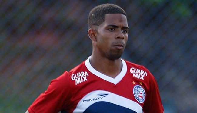 Bom rendimento colocou Hayner na equipe titular de Doriva - Foto: Felipe Oliveira l EC Bahia