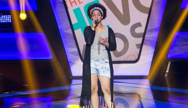 Além de Lia, o soteropolitano Lucas Marques, 13 anos, também participou do segundo dia de audições - Foto: Reprodução | TV Globo