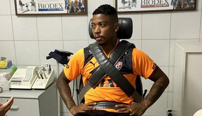 Marinho faz exames no Vitória; ele deve começar a treinar nesta quinta-feira, 28 - Foto: Divulgação l EC Vitória