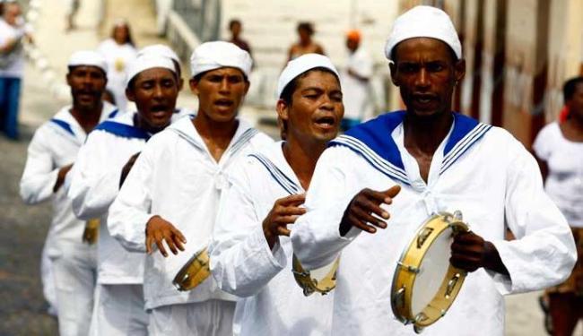 A Marujada, tradição do município de Cairu é esperada no cortejo - Foto: Fernando Vivas | Ag. A TARDE