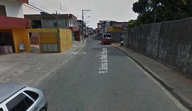 Ação aconteceu na rua Direta da Mata Escura - Foto: Reprodução | Street View