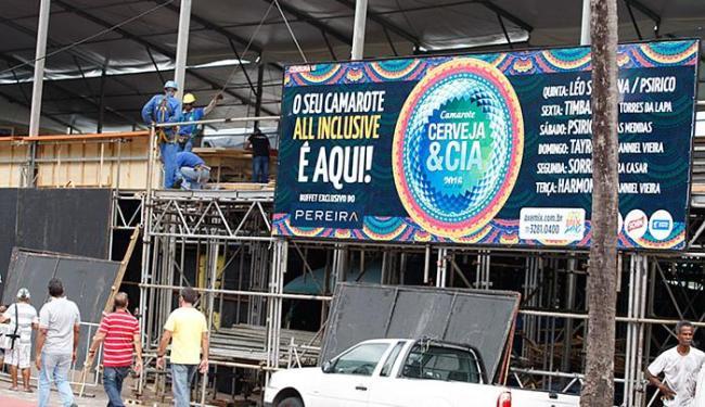 O Cerveja & Cia apronta os últimos ajustes - Foto: Joá Souza l Ag. A TARDE